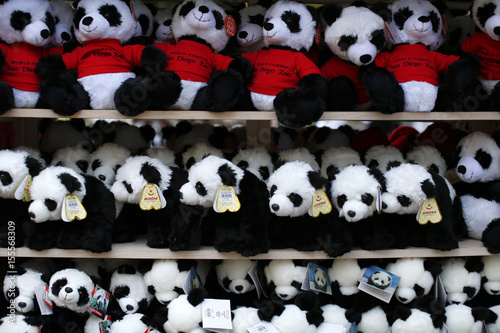 Gift Shop Souvenirs Are Seen For Sale As Giant Panda Cub Xiao Liwi