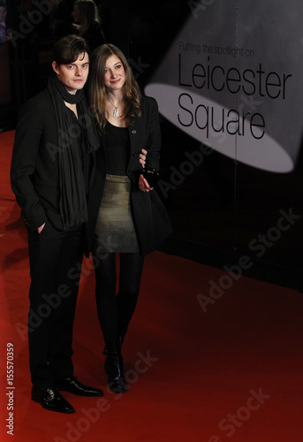 British Actor Sam Riley And Alexandra Maria Lara Pose For