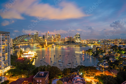Foto op Canvas Texas Downtown Sydney skyline