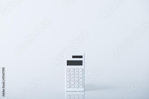 Fotografie, Obraz  白い電卓