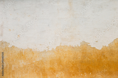In de dag Retro Abstract vintage background of old white paint on cement wall