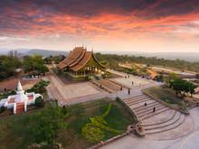 Bodhi Tree Glow Wat Sirindhornwararam