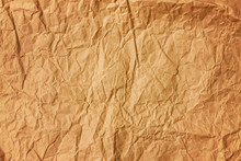 Background Of Old Crumpled Col...