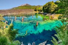 Lago Arcoiris At Conguillio N.P. (Chile) - HDR Panorama