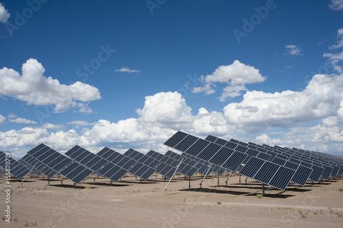 Fotografie, Obraz  Solar Panels in a Power Plant