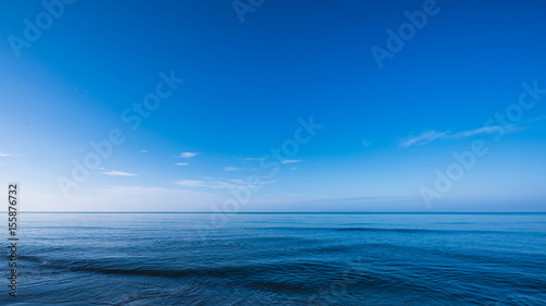 Fotobehang Zee / Oceaan Blue dark and deep ocean