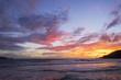 twilight sky after sunset
