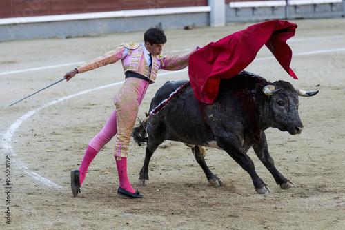 Corrida Bullfighter in a bullring