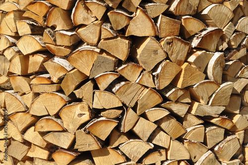 Fotobehang Brandhout textuur Дрова крупным планом