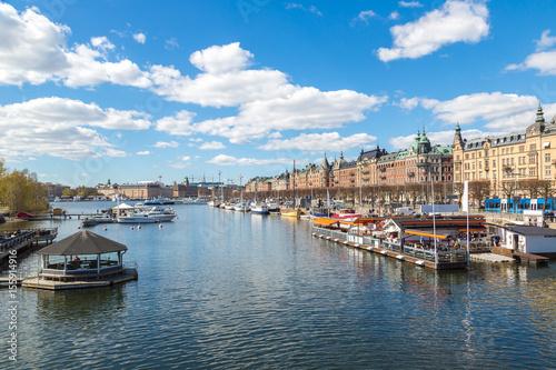 Spoed Foto op Canvas Verenigde Staten Gamla Stan in Stockholm