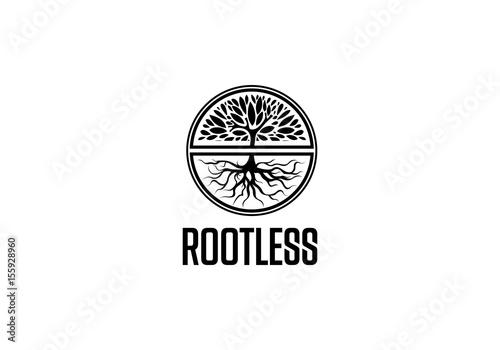 Photo  Rootless logo