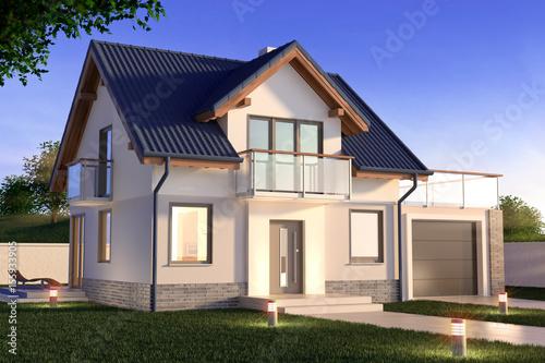 Foto Single family house