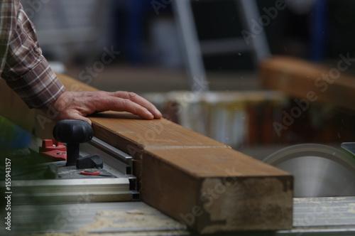 In de dag Muziekwinkel Terrassenüberdachung - Pergola aus Holz montieren