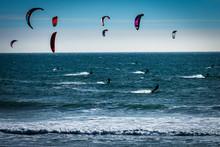 Kite Boarders, California