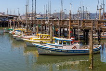 Boats In Fisherman's Wharf