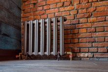 Vintage Iron Radiator For Home...