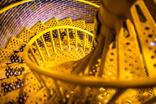 Spiral Stairs That Lead The Wa...