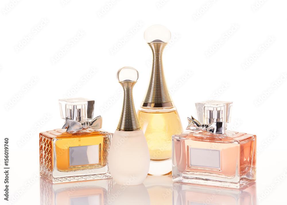 Fototapety, obrazy: Bottles of perfume