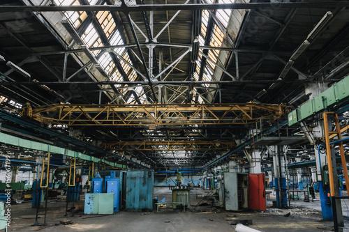Papiers peints Les vieux bâtiments abandonnés Аbandoned factory