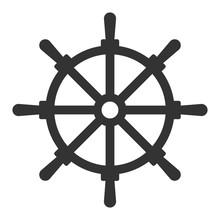 Steering Wheel Vector Illustra...