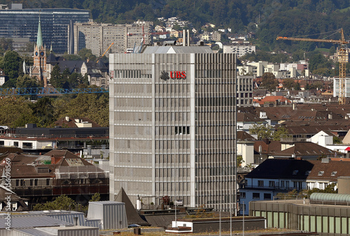 Office building of Swiss bank UBS is seen in Zurich - Buy