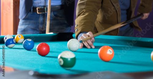 Fotografie, Obraz  billiard balls on table