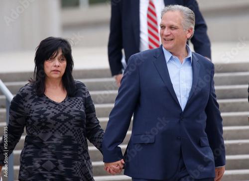 Edward Mangano, Nassau County Executive, and his wife Linda