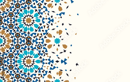 Photographie  Morocco Disintegration Template