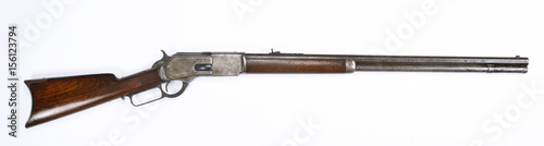 Antique 1876 Lever Action Rifle. Fototapete
