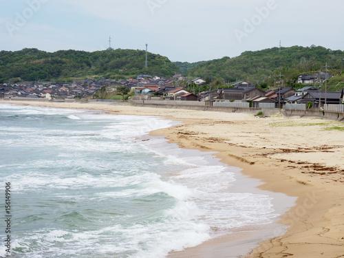 Aluminium Prints Beach 琴ヶ浜海水浴場