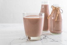 Glass Of Chocolate Milk