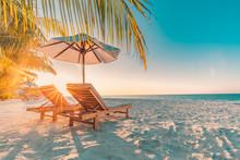 Beautiful Beach Background. Vacation Holidays Background