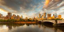 Melbourne City, Yarra River, P...