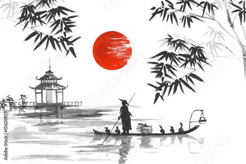 Fototapeta japoński obraz