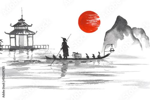 tradycyjny-japonski-obraz