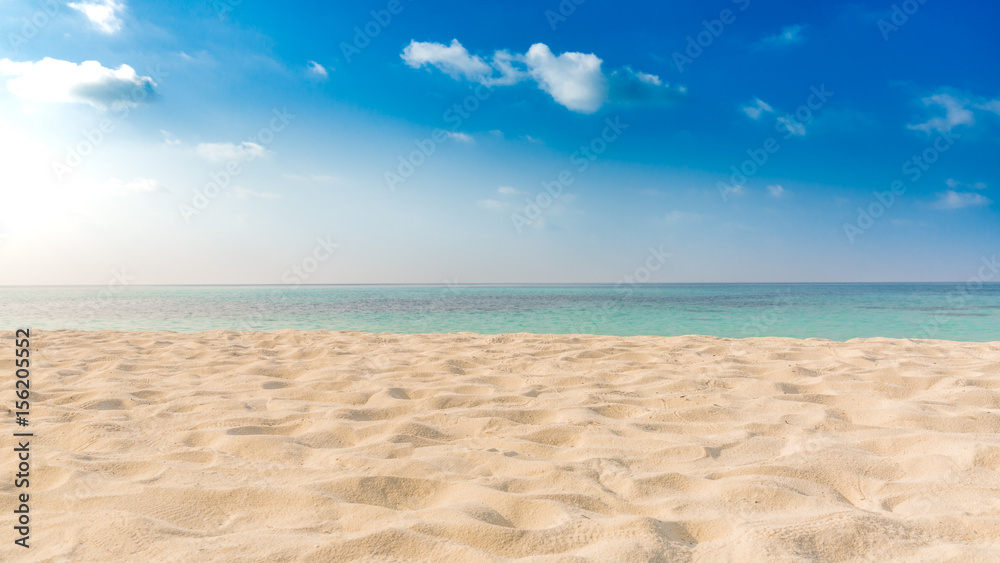 Fototapety, obrazy: Perfect tropical beach landscape. Vacation holidays background