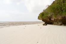 Small Cove On The Beach Of Bamburi