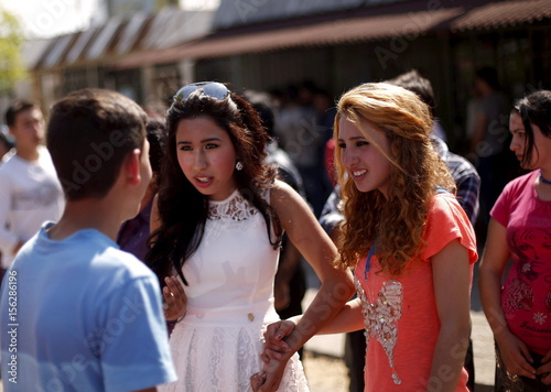 Bulgarian Roma Women From The Close Knit Kalaidjii Clan Chat With A
