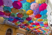 The Sky Of Colorful Umbrellas....