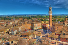 View Of Piazza Del Campo From ...