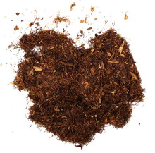 Pile Tobacco Isolated On White Background, Top View