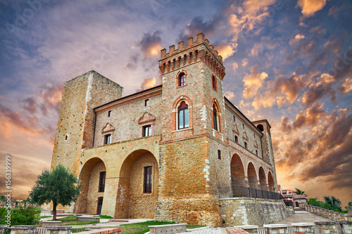 Photo castle of Crecchio, Abruzzo, Italy