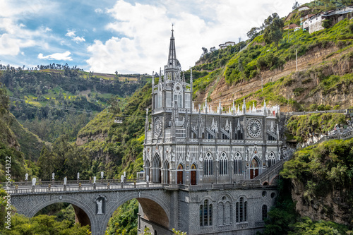 Recess Fitting South America Country Las Lajas Sanctuary - Ipiales, Colombia