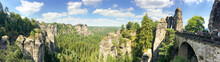 Panoramic View Of Bastei Park,...