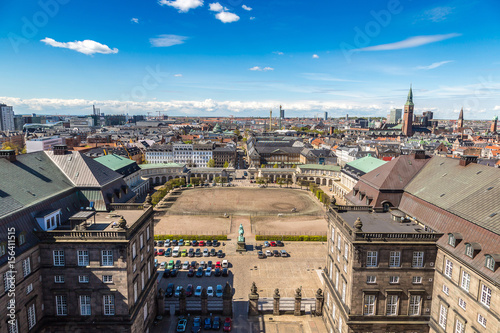 Poster Havana Aerial view of Copenhagen
