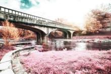 A Beautiful Park Bridge