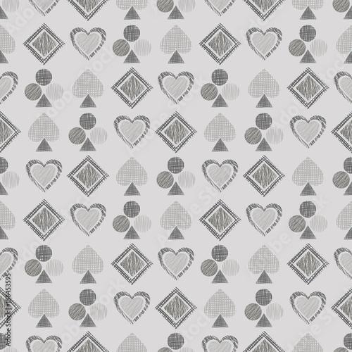 wektor-bez-szwu-geometryczny-wzor-z-ikonami-kart-do-gry-tlo-z-recznie-rysowane-teksturowane-figury
