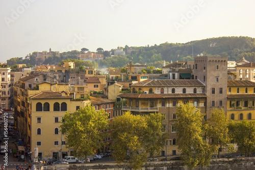 Fotobehang Athene Roman cityscape