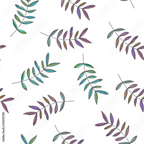 botaniczny-recznie-rysowane-ilustracja-oddzialow-wektorowy-bezszwowy-wzor-w-doodle-stylu-kwiecista-tekstura-z-slicznymi