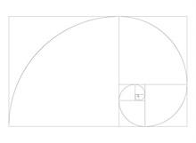 Golden Ration Section Spiral Frame